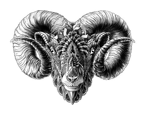 ram tattoo ideas on aries ram tattoo aries