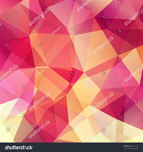 abstract design elements in red and orange colors on black background 27936 borders and frames abstract mosaic background pink orange yellow stock