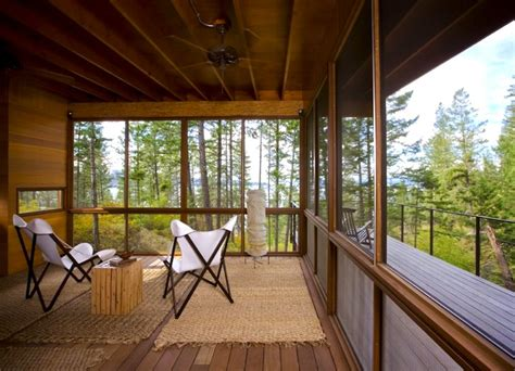 Flathead Lake Cing Cabins by Gorgeous Flathead Lake Cabin Is A Minimalist Home For The