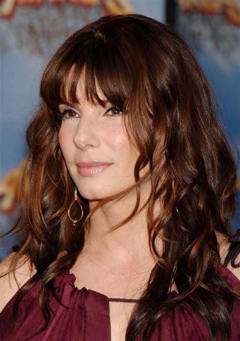 celebrity hairstyles sandra bullock  hair trends