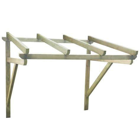 tettoia per porta tettoia porta d ingresso in legno 200 x 150 x 160 cm