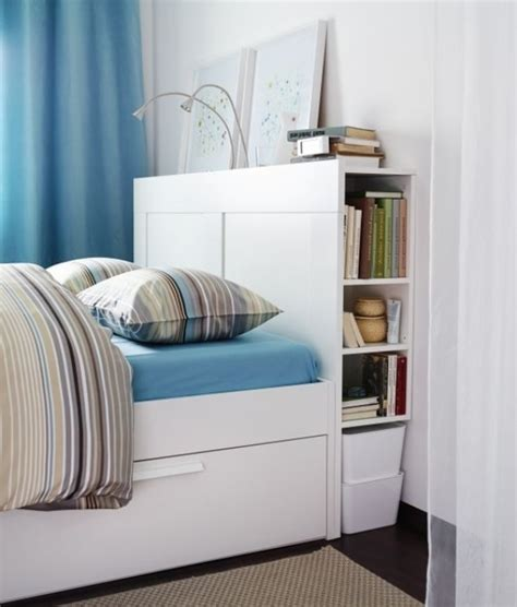 brimnes bed frame with storage headboard brimnes headboard with storage compartment white