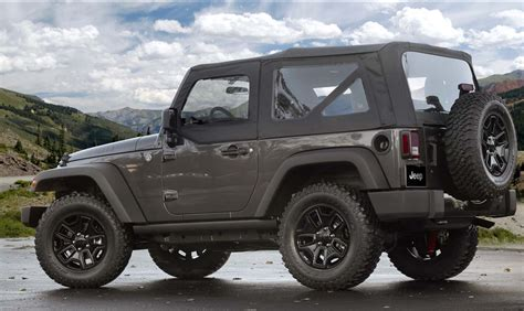 willys jeepster 2014 jeep wrangler willys special edition jeepfan com