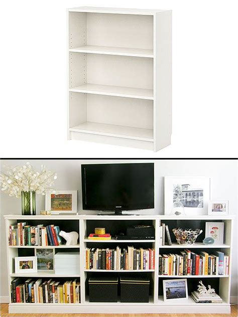 ikea furniture hacks create a custom entertainment center with ikea s billy