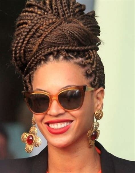 braided bun hairstyles for black official