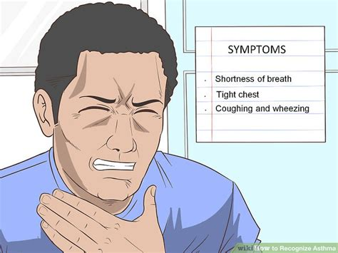 shortness of breath after c section how to recognize asthma 14 steps with pictures wikihow