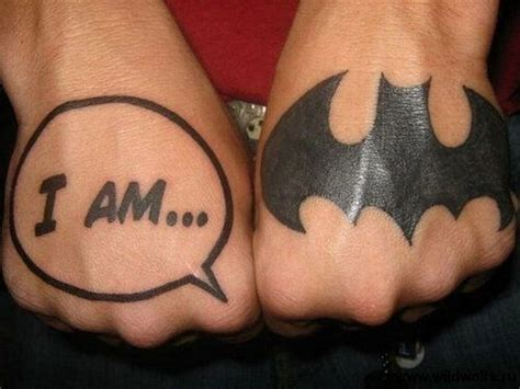 Logo Tattoo On Hand | 16 best batman tattoo designs images and ideas