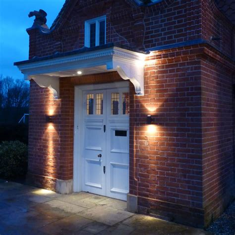 Garden Wall Lights Pillar Halogen Light Garden Exterior Cullen