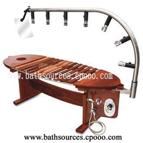 What Is A Table Shower by China Wooden Vichy Shower Table Bsw D China Vichy Shower Vichy Bath