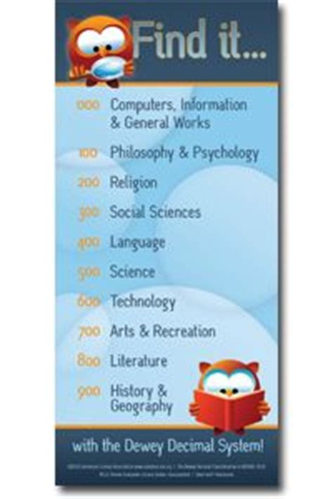 printable dewey bookmarks american library association ala quot find it with dewey