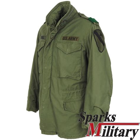 small jacket us m65 field jacket small regular with 1st cavalry regiment patch buy
