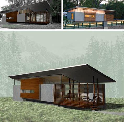 modern mobile homes converting trailers to houses