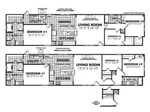 18 Wide Mobile Home Floor Plans by Legacy Housing Single Wide Modular Manufactured