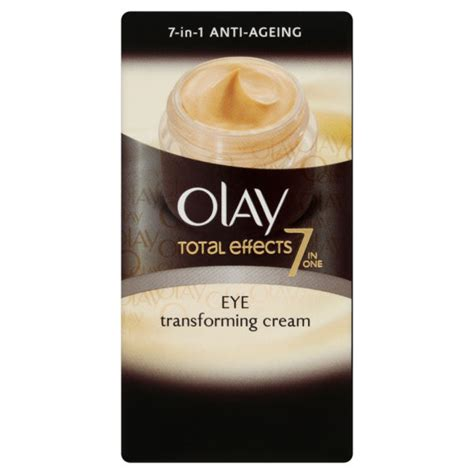 Olay Total Effect Eye olay total effects moisturiser eye transforming