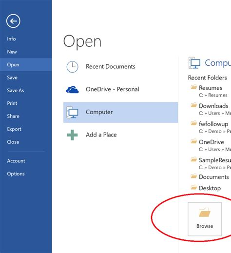 Resume Open App How To Format A Pdf Resume Using The Ireformat Office App