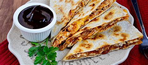 what s for dinner tonight bbq chicken quesadillas la
