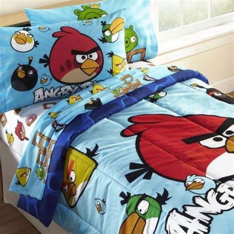 Bed Comforta Angry Bird best angry bird bedding set for boys 2013 infobarrel
