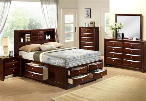 Bedroom Furniture Storage Bed Frame And Dresser Set Bestdressers 2017