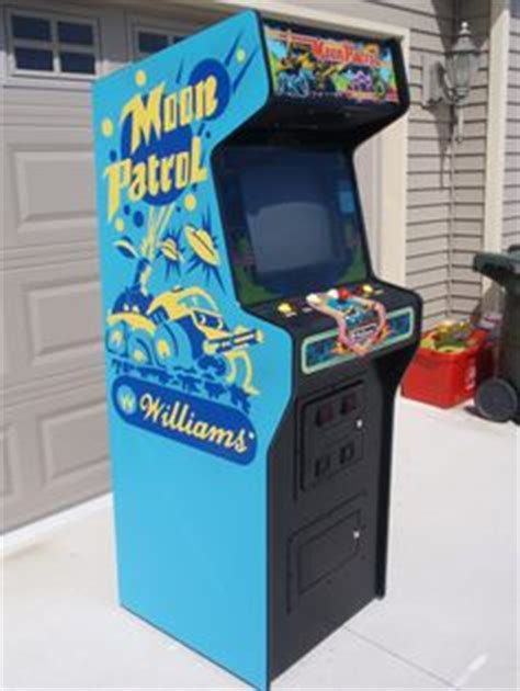 Moon Patrol Cabinet by 1000 Images About Arcade Cabinet Stencils On