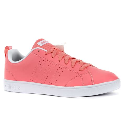 adidas s advantage clean vs pink white shoes aw4747 new ebay