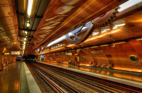 Beautiful Subway Stations by 25 Most Beautiful Subway Stations Around The World Photo
