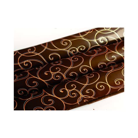 The Cake Decorating Company by The Cake Decorating Co Doubles Arabesques Print Chocolate