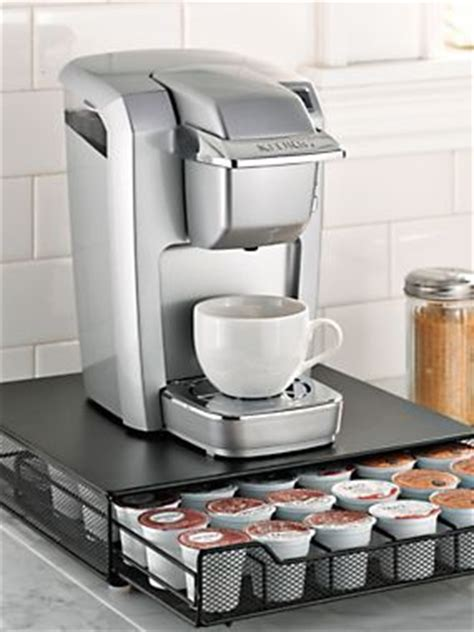 Keurig Countertop Storage by Rolling Coffee Pod Drawer K Cup Countertop Storage Keurig Coffee Organizer Solutions