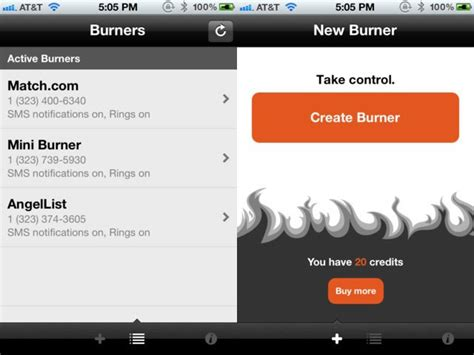 Is There A Real Free Phone Lookup Keep Your Real Phone Number With A Temporary One Via Burner Ios App Cult Of Mac