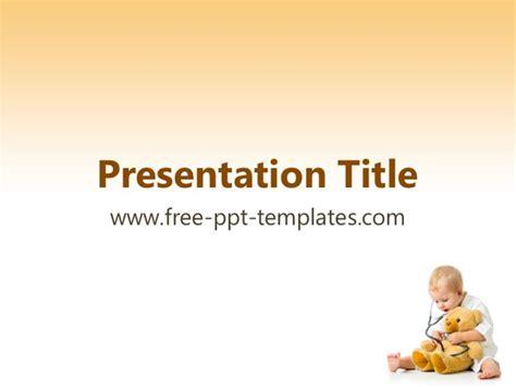 pediatric powerpoint templates free pediatrics powerpoint template