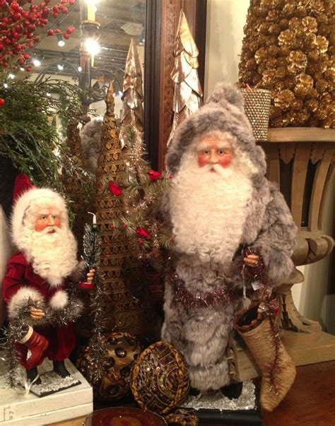 Handcrafted Santas - at annelle primos handmade santas my store
