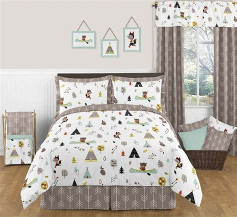 Outdoor Themed Crib Bedding Outdoor Adventure Nature 3pc Bedding Set Only 119 99