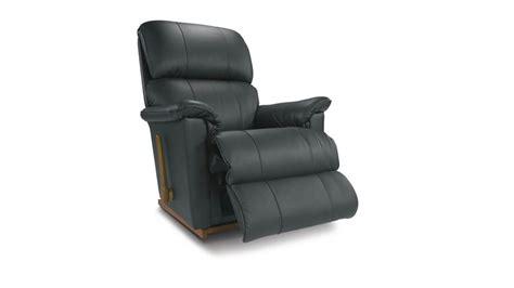 la z boy leather rocker recliner la z boy stanley full leather rocker recliner pebble