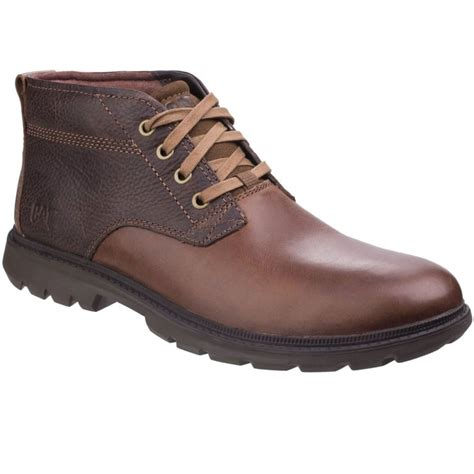 cat trenton mens lace up boots from charles clinkard uk
