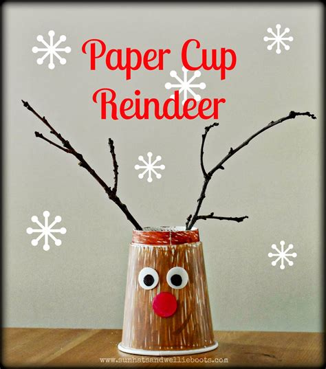 How To Make A Paper Reindeer - sun hats wellie boots 18 gifts that