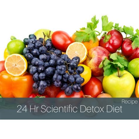 24 Hour Detox Cleanse Diet by 24 Hour Scientific Detox Diet