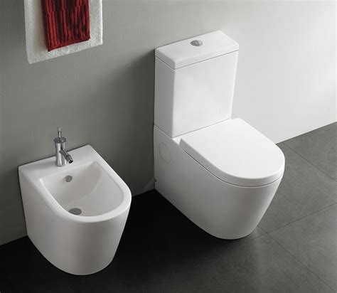 Toilet Bidet Messina Ii Modern Bathroom Bidet