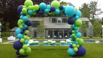 Balloon arches amp columns balloon artistry