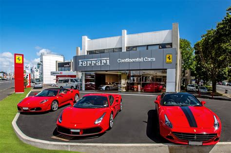 New Ferrari Supercar by Ferrari Supercars Gather In New Zealand To Celebrate New