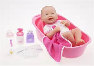 doll bath time set baby doll gift set with pink doll bathtub