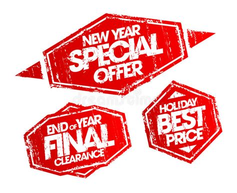 new year sale vector new year special offer st end of year clearance