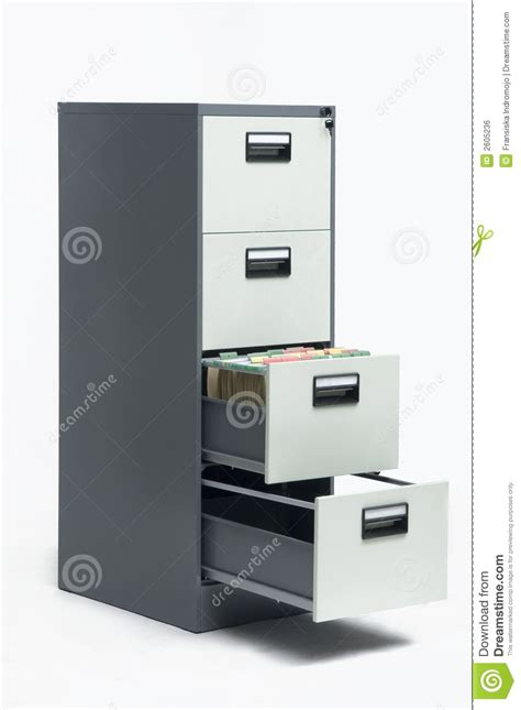 Filing Cabinet Royalty Free Stock Image   Image: 2605236