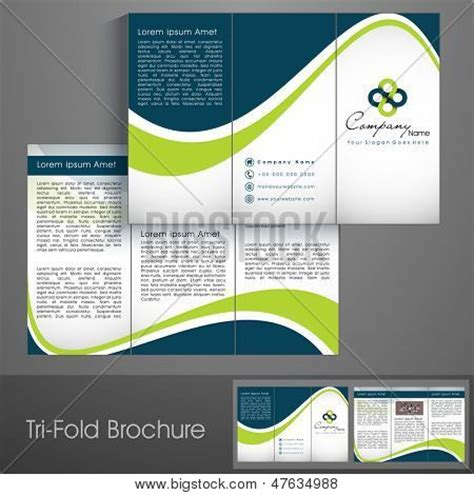 business brochure design templates free professional business three fold flyer template corporate