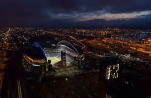 lights seattle 2014 seahawks stadium in seattle the before the