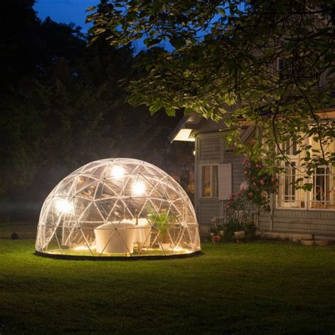 garden igloo garden igloo the all year outdoor igloo lifestyle fancy