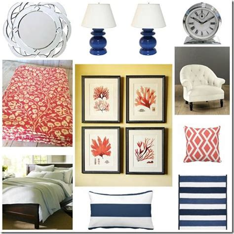coral and navy bedroom best 25 navy coral bedroom ideas on navy