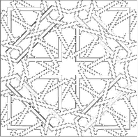 islamic pattern dwg download center tile pattern islamic patterns pinterest more