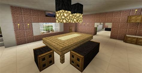 Dining Table In Minecraft 17 Best Images About Minecraft House Ideas Concepts On