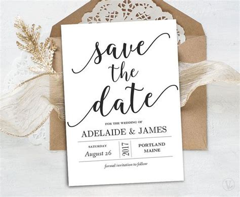 best 25 save the date templates ideas on pinterest