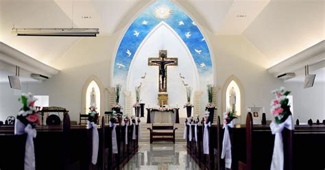 catholic church st fransiskus kuta bali wedding venue