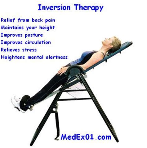 inversion therapy table benefits supplies knowledge base inversion therapy benefits